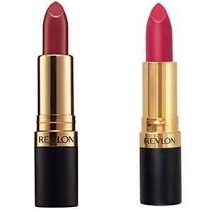 Two Revlon Super Lustrous Lipsticks